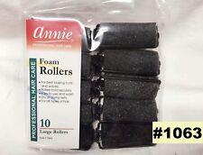 "ANNIE LARGE FOAM ROLLERS ITEM # 1063 1"" DIAMETER 10"