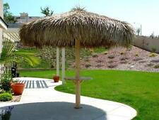 9' FIRE RETARDANT TIKI BAR PALAPA PALM THATCH GRASS UMBRELLA COVER