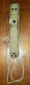 Eagle Industries knife sheath khaki kydex lined belt leg drop MOLLE 5 x 1 blade