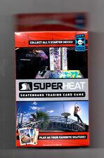 SuperHeat Skateboard Trading Card Game Throw Down Deck #3 Sealed SUPER HEAT