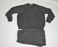 Vintage 90s Fila Mens 2XL 2 Piece Crewneck Sweatshirt Joggers Jogger Pants Gray
