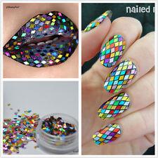 Colorful Glitter Sheets Spangle Sequins Manicure Nail Art 3D Decoration