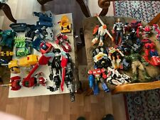 A HUGE LOT OF TRANSFORMERS 9 LBS+