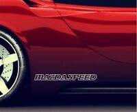 2x Seitenaufkleber Aufkleber Passt Mazda Speed Sticker Emblem Logo ER46