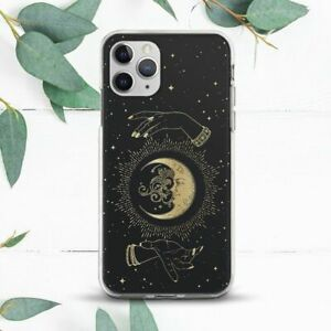 Moon Stars Mystic Hands Aesthetic Case For iPhone 7 8 X SE 11 12 Pro Max XR