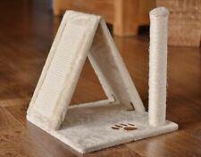 animal-design Katzenhaus URLAUB Kratzturm mit Sisalkratzflächen und Kratzsäule