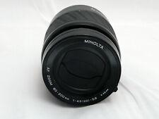 OBJETIVO PARA SONY  ALPHA AF 80 -200mm 4.5-5.6 Marca Minolta GENUINO MADE IN JAP