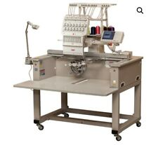 Swf 15-Needle Embroidery Machine, includes all original hoops