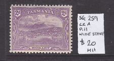 Tasmania: 2d Pictorial Sg 259 Wmk Cra Perf 11 Mh Wide Stamp.