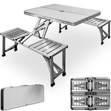 Set de pique-nique - Aluminium avec fonction valise et emplacement pour parasol