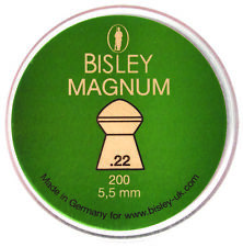 Bisley Magnum  Airgun Pellets .22/5.50mm Qty 200 Free P & P