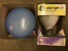 GE R40 90656 120W Dimmable Incandescent Blue Reflector Plant Light Bulb