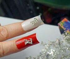 EXCLUSIVE 10 Pc 3D Nail Art Designers Logo Lv Swarovski Charms Nail Jewelry Gift