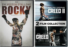 Rocky Saga Complete Series Collection 1-6 Bundle & Creed 1 & 2 DVD NEW Stallone