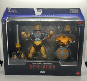 MASTERS OF THE UNIVERSE REVELATION MASTERVERSE FAKER DELUXE FIGURE EXCLUSIVE