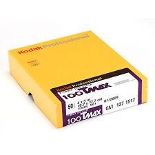 Kodak T-Max 100 T Máx. 4x5 pulgadas 50 Blatt Película plana S/w b/w
