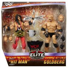 WWE Mattel Bret Hitman Hart / Bill Goldberg Elite Two-Pack Figures