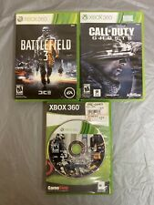 XBOX 360 LOT/BUNDLE SHOOTERS CRYSIS 2 + Battlefield 3 + CALL OF DUTY GHOSTS