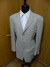 Mens Blazer Sport coat Jacket Keithmoor 44L Tan Wool blend N#59