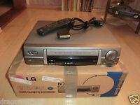 LG BC909P VHS-Videorecorder, in OVP mit Fernbedienung, 2 Jahre Garantie