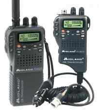 Midland Alan 42 multi poche CB transceiver radio + voiture chargeur + kit complet