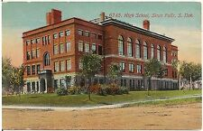 High School in Sioux Falls SD Postcard