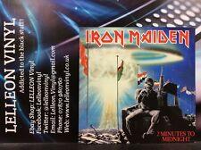 "Iron Maiden 2 Minutes To Midnight 12"" Single Vinyl 12EMI5489 A1U/BU Rock 80's"