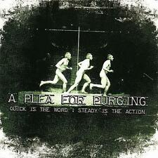 Quick Is the Word; Steady Is the Action by A Plea for Purging (CD, 2007, A Plea