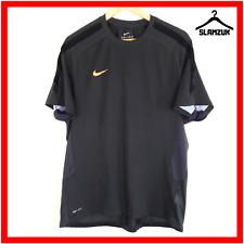 Nike Training Top Mens XL Dark Grey Short Sleeve Shirt Jersey Soccer Gym Tennis