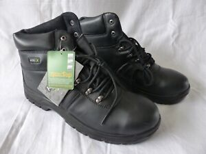 Safety Boots Size 12 ,4008 Black 4 Seasons Waterproof Boots Rockfall Pro-Man