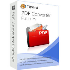 PDF Converter Platinum WIN Tipard dt.Vollversion 1 Jahr - Lizenz ESD Download