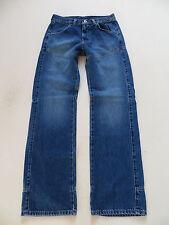 Mustang 9137 Worker Jeans Hose, W 29 /L 32, NEU ! Blue Denim, Robust & Bequem !