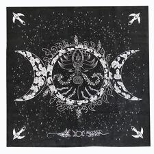 2020 New Triple Moon Pentagram Altar Tarot Cloth Divination Cards Velveteen