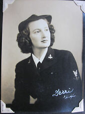 ALBUM  PHOTOS  U.S.  FEMININ  WAVES ET   MARINES  1942  1945