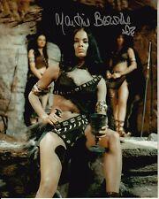 MARTINE BESWICK signed SLAVE GIRLS 8x10 uacc rd coa SEXY QUEEN PREHISTORIC WOMEN