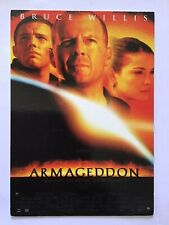 ARMAGEDDON, Bruce Willis, Film Movie Poster Postcard UnPosted 1538