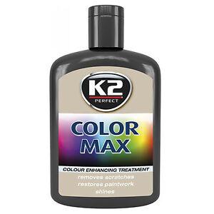 Black Color Max Car Paint Polish Colour Restorer Cover Scratches Enhance Lustre