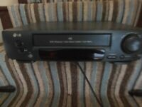 LG NTSC Playback/ Turbo Search System/ Icon Menu VHS Player - Spares and Repairs