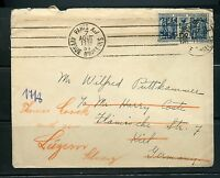 FRANCE 1931  COVER TO KIEL GERMANY REROUTED TO LUZERN, SWITZERLAND