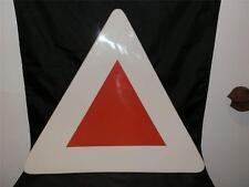 Dudson RARA Paintbox vetrificati grandi Triangolo Bianco & Rosso plate serving dish