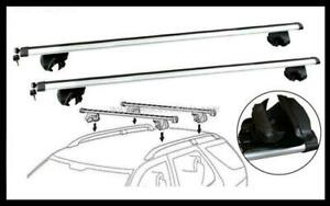 2x NEW CROSS BAR ROOF RACK For NISSAN DUALIS 2008 - 2014 goes on side raise rail