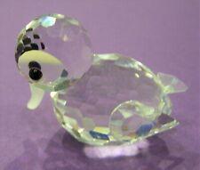 Swarovski Crystal Mini Swimming Duck - #012531 / 7665 037 000 - Mint