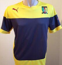 Puma Cameroon Shirt Training Jersey Gr. M Kamerun Herren Trikot Gelb Neu