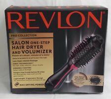 Revlon One-Step Hair Dryer & Volumizer Hot Air Brush PINK Black