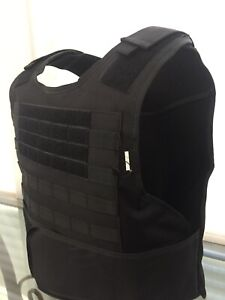 XL 2X 3xl M L Bulletproof Vest Carrier BODY Armor Free Made With Kevlar Inserts