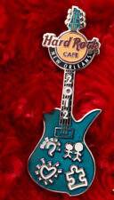 Hard Rock Cafe Pin New Orleans AUTISM SPEAKS CHARITY Guitar 2 hat lapel logo le