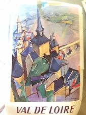 original poster paris val de loire 1957 paris railways signed