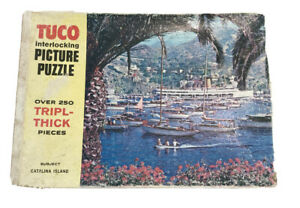 Vintage Tuco Picture Jigsaw Puzzle Catalina Island 250+ Pieces #950-4 Hi Art