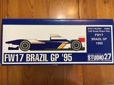 Studio 27  1/20  Williams FW17 Brazil GP '95  ( FK2064 )  RARE !!!  Damon Hill