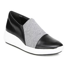 Via Spiga Womens Black Grey Morgan Slip On Sneaker Sz 9.5 3799